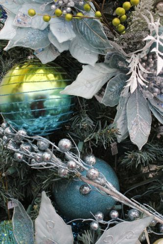2017 Christmas Blue Green