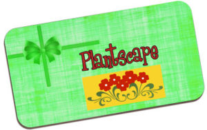 gift card at Plantscape